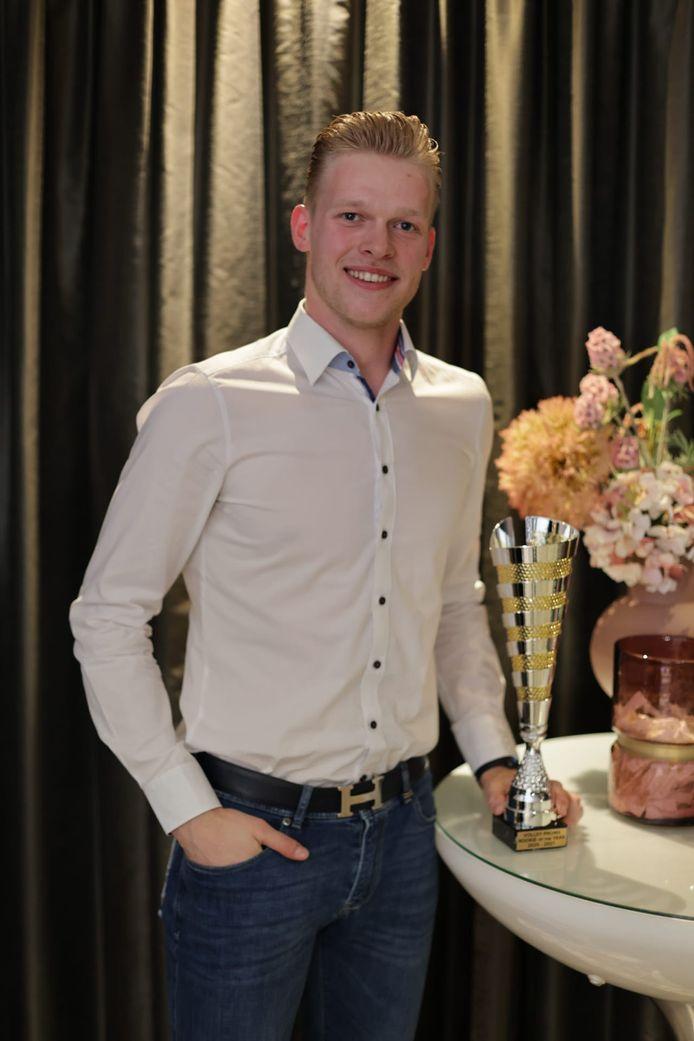 Rookie van het jaar: Euro Millions Volley League: Mathijs Desmet.