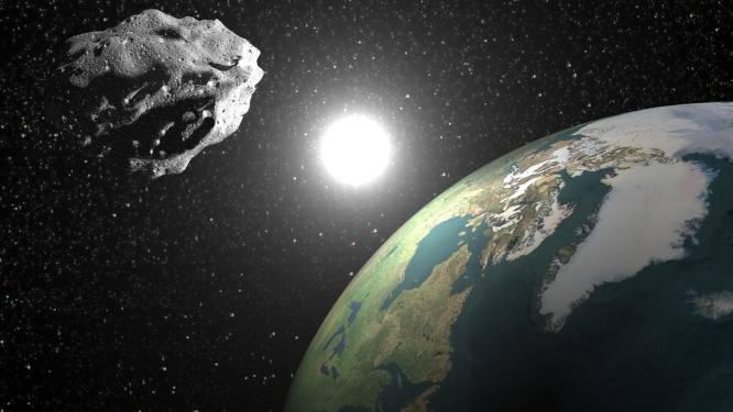 Van alle gevonden asteroïden riskeren er 15.000 ooit in te slaan op aarde