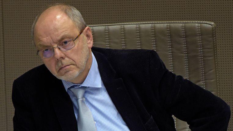 Vlaams Parlementslid Christian Van Eyken, de enige verkozene van het Union des Francophones (UF). Beeld PHOTO_NEWS