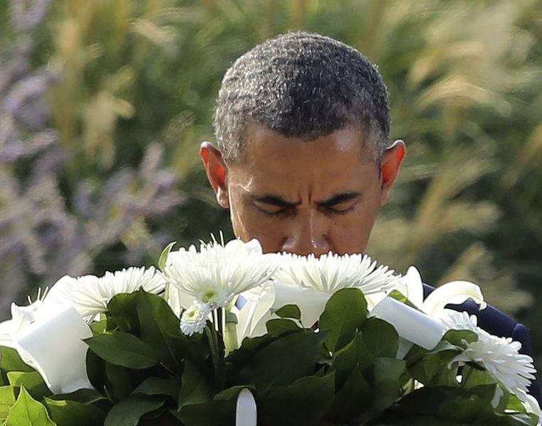 De Amerikaanse president Barack Obama. Beeld reuters