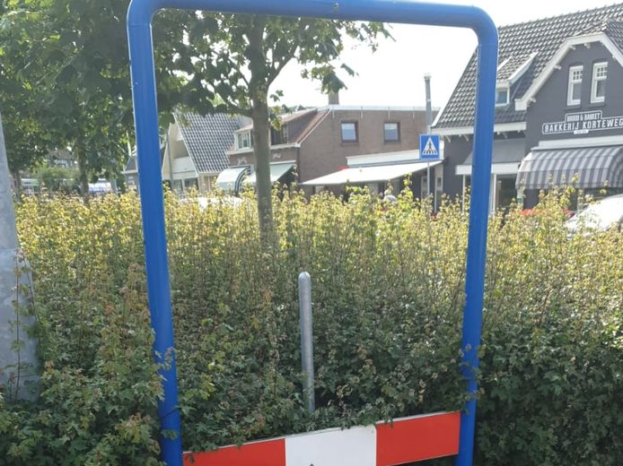 Het kombord van Dubbeldam is deze week verdwenen.