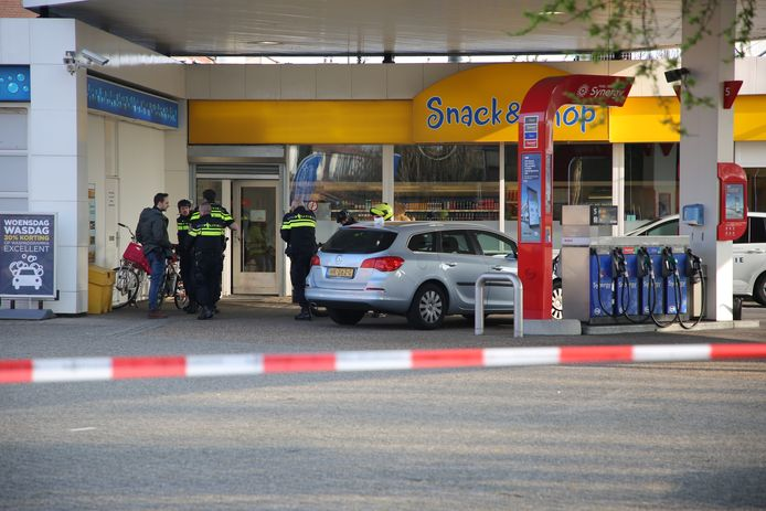 Tankstation Esso in Zoetermeer is vanochtend overvallen