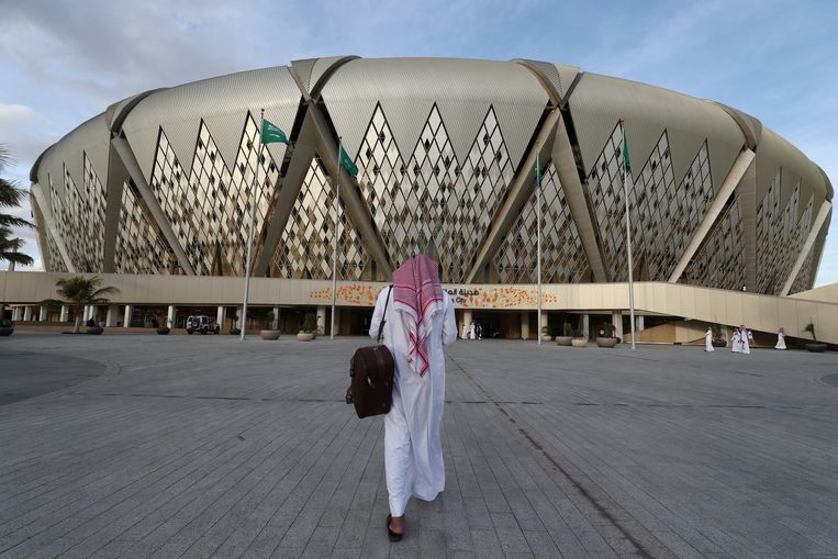 King Abdullah Sports City in Jeddah, Saudi-Arabië.  Beeld Reuters