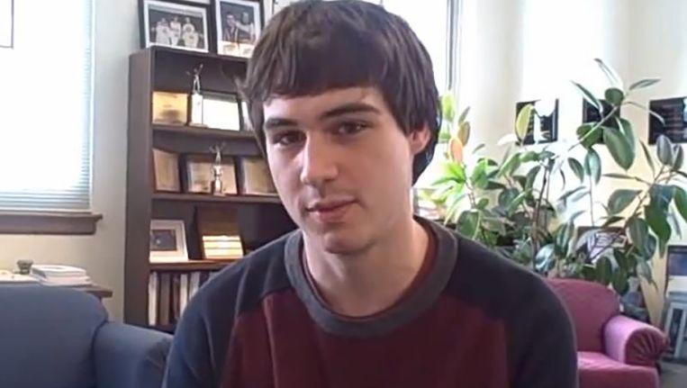 Matthew Rognlie in 2010. Beeld youtube