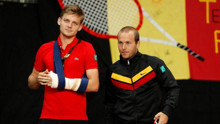 David Goffin en Olivier Rochus staan niet meer in de top 100 Beeld BELGA