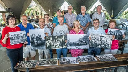 Fototentoonstelling in kerk Sleihage naar aanleiding van 75 jaar bevrijding