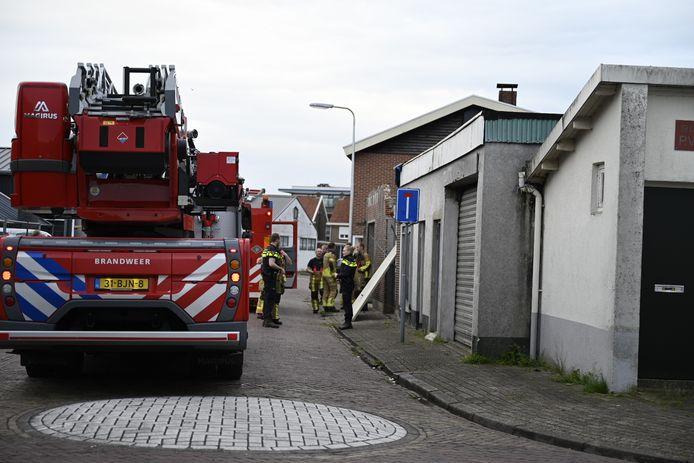 De situatie was snel onder controle in Almelo.