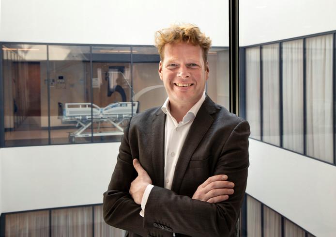 Dennis van Veghel in het hartcentrum.