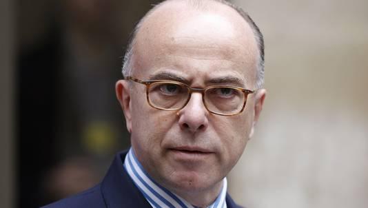De Franse binnenlandminister Bernard Cazeneuve.