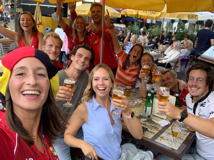 Team De Kerpel in wijnsbistro Patine.