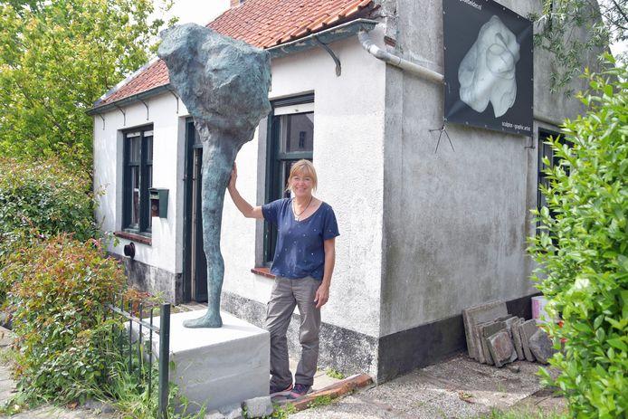 Het atelier van Inge de Belder in Graauw is één van de locaties die te bezoeken is vanaf 2 oktober.