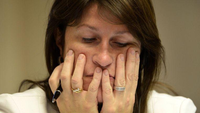 Minister Jacqueline Galant (Archiefbeeld). Beeld photo_news