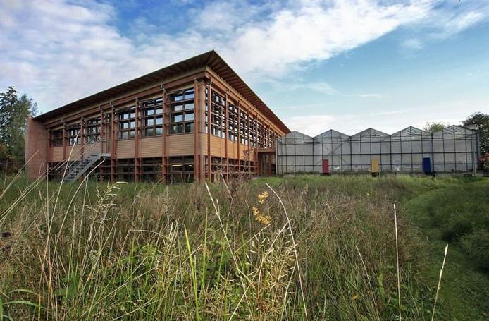 Milieu-educatiecentrum De Kaardebol in Zutphen. foto archief Yvonne Pieters