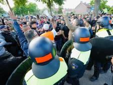 Politieman houdt piep in zijn oren over aan rellen bij moskee in Eindhoven