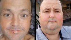 """Jason verloor 150 kilo nadat dokter hem voor de keuze stelde: """"Afvallen of sterven"""""""