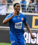 Jonathan David, dernier bourreau de la saison d'Anderlecht.