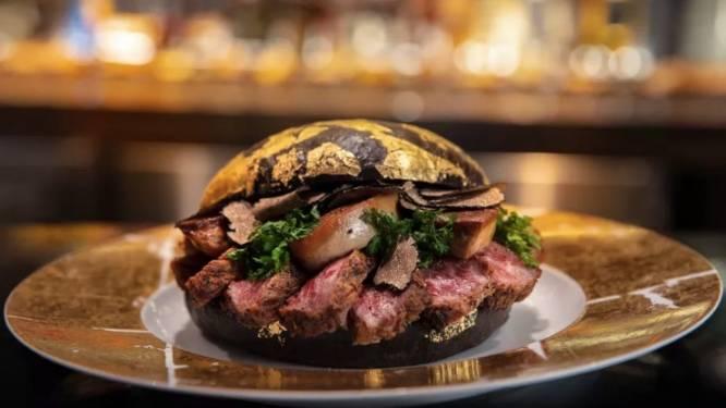 Een hapje van deze exclusieve hamburger kost je bijna 1500 euro