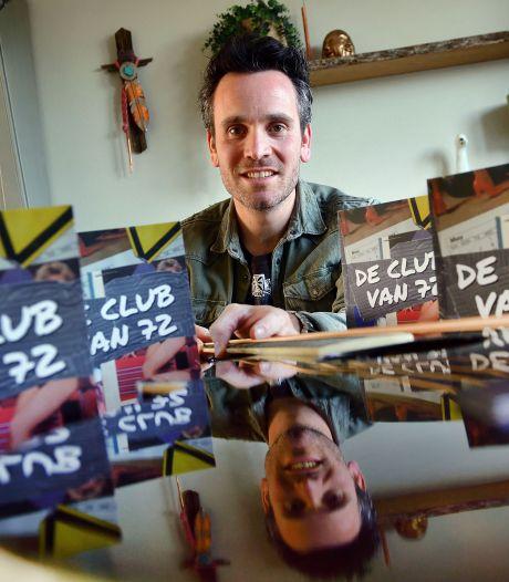Muzikant uit Kruisland debuteert met boek vol muziekfeitjes: 'De Club van 72'