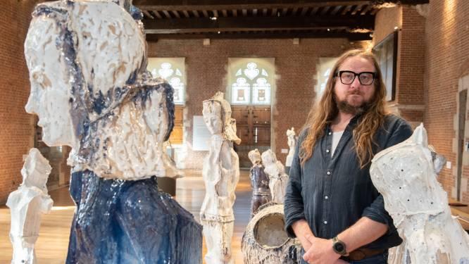 """Internationaal gewaardeerde kunstenaar Johan Tahon (55) exposeert in Oudenaarde: """"Ik zal nooit vergeten dat hier mijn springplank heeft gestaan"""""""