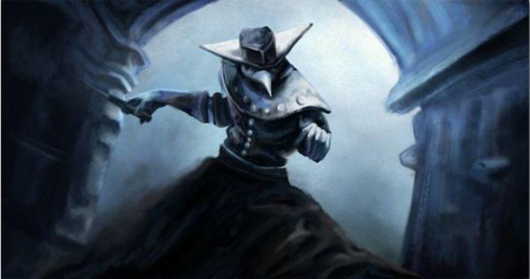 Malfatto, de 'pestdokter' in de game Assassin's Creed: Brotherhood. Beeld Assassins Creed: Brotherhood