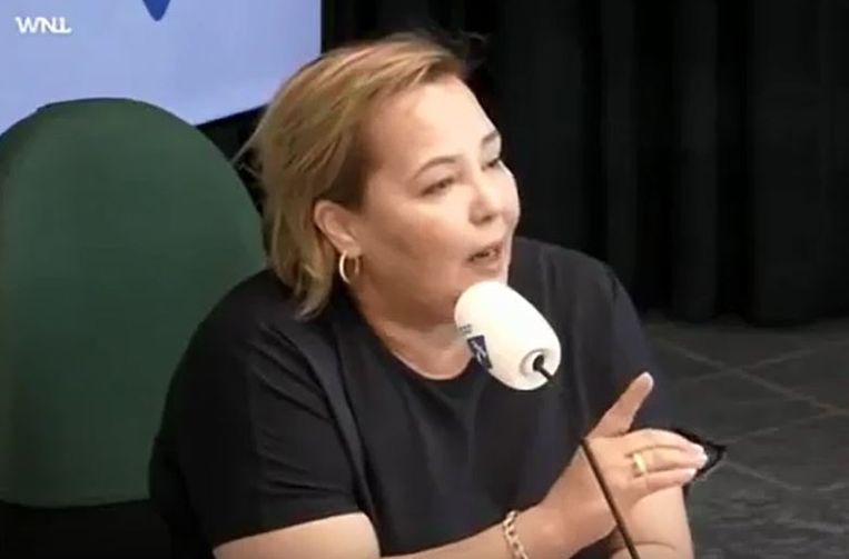 Zakenvrouw Rahma el Mouden bij WNL. Beeld screenshot Radio1