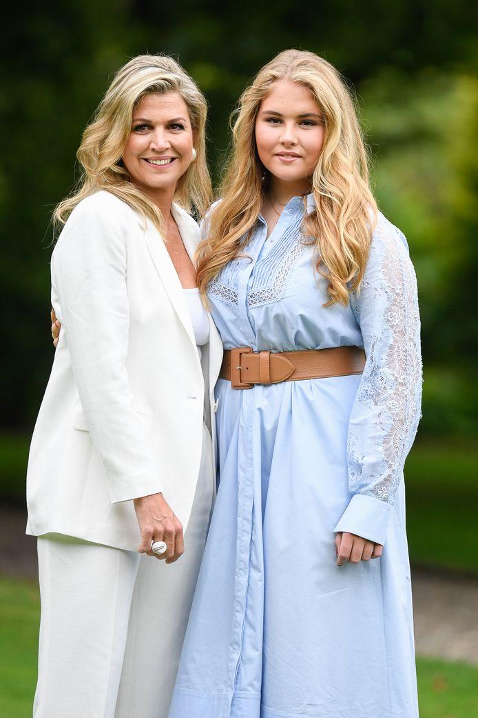 Moeder en dochter: Máxima en Amalia (16).