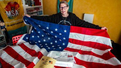 """Vorige maand nog wapperend op dak Capitool in Washington, vandaag ligt Amerikaanse vlag in de kast bij Ritje: """"Levensmissie om MSA onder de aandacht te brengen"""""""