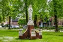 Ook oudere, religieuze kunst is in de inventarisatie op CuPuDo meegenomen, zoals dit Mariabeeld van Jan Custers uit 1924, te vinden in De Schans.