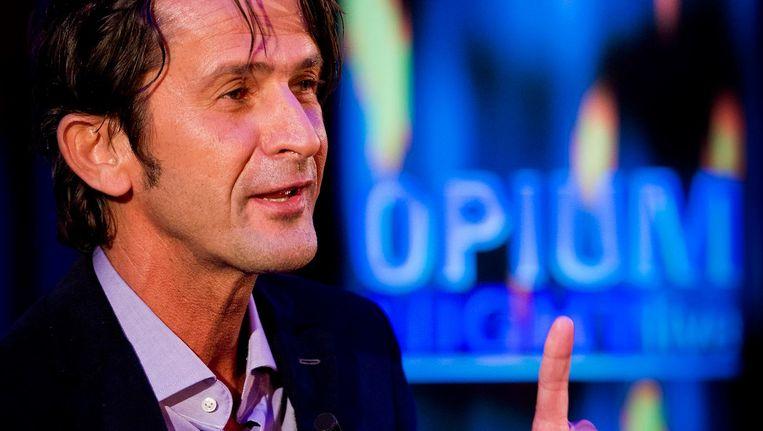 Opium-presentator Cornald Maas. Beeld anp