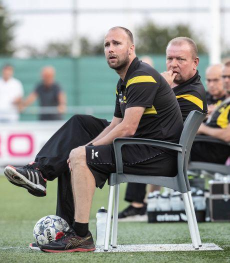 Kevin Jeurissen en Gerwin Groothuismink waren de opvallende trainers in de Liemerse carrousel