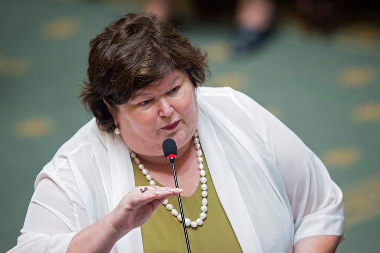 Maggie De Block. Beeld Photo News