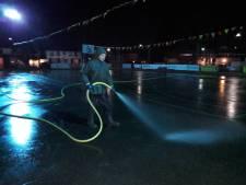 Dankzij ijsmeester Broens wordt er  maandag weer geschaatst in Bladel