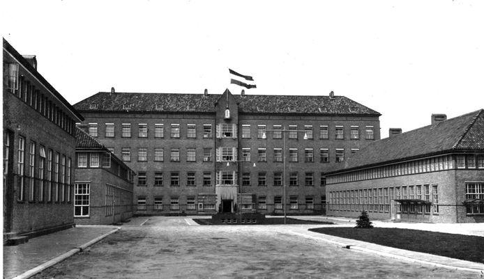Het vooroorlogse Zuiderziekenhuis in Rotterdam