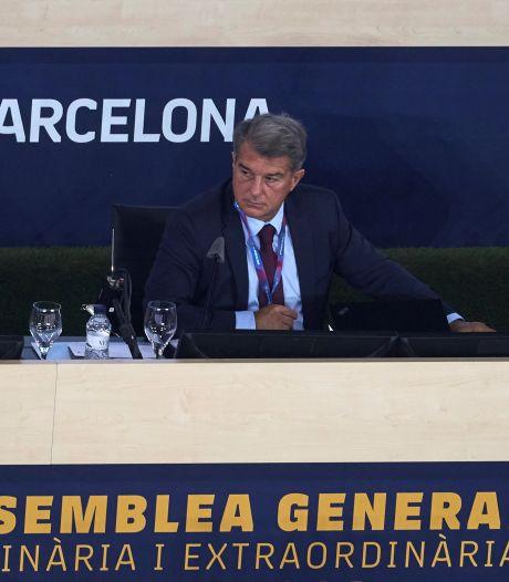 """Le projet de Super Ligue est """"toujours vivant"""" selon le président du Barça"""