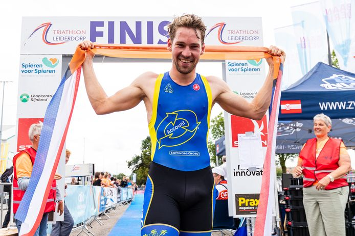 Jorik van Egdom is Nederlands kampioen sprint.