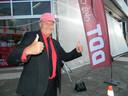 Jacques Vermeire alias DDT in juni 2017 tijdens de opnames in Eeklo.
