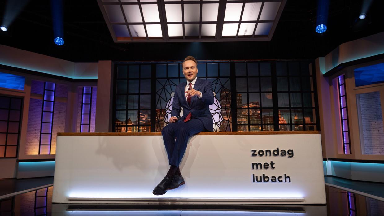 Arjen Lubach, presentator van 'Zondag met Lubach'.  Beeld VPRO