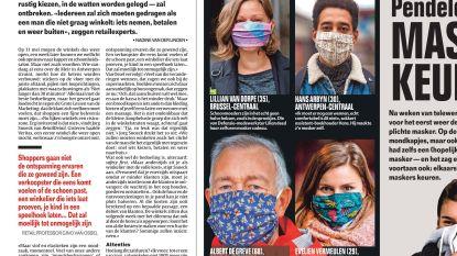 Pendelen is nu ook: maskers keuren