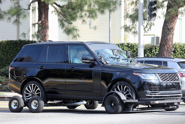 Justin Bieber en James Corden werden woensdag gespot tijdens de opnames van 'Carpool Karaoke' in Los Angeles.