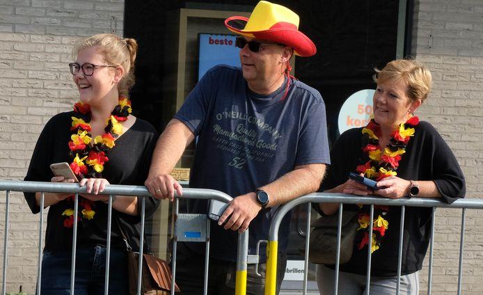 Supporters in Bonheiden