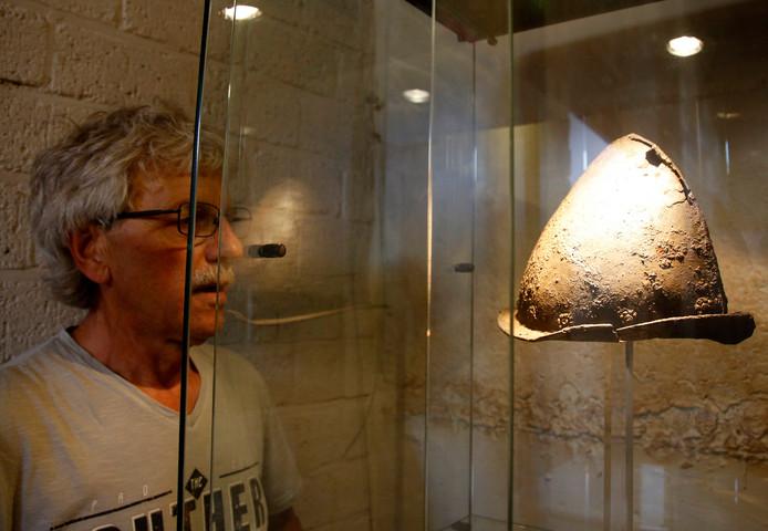 De Spaanse helm is het pronkstuk van de collectie.