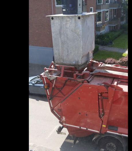 Buitenlandse verwondering om legen Groningse vuilcontainer: 60 miljoen kijkers