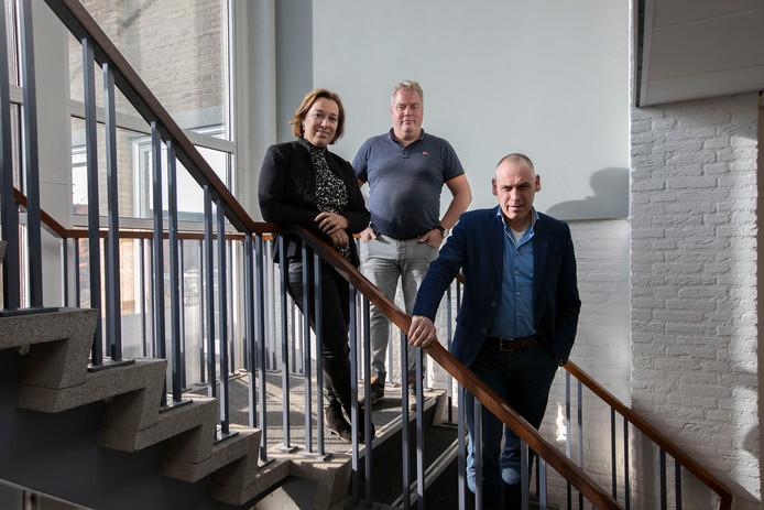 Zorgokee directeur Bernier van Hoof met medewerkers