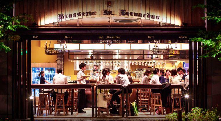 In 2012 opende het eerste Japanse St.Bernardus themacafé de deuren.