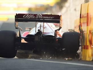 Leclerc troeft Hamilton en Verstappen af na chaotische kwalificaties voor pole in Baku
