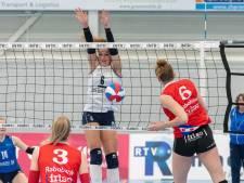 Brede selectie loont voor volleybalsters Sliedrecht Sport: 'Flexibiliteit is onze kracht'