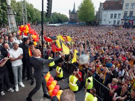 Géén feest bij promotie Go Ahead, maar tegen massale vreugde-uitbarsting is geen kruit gewassen