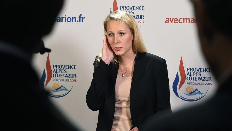 Marion Maréchal-Le Pen, het wonderkind van extreemrechts in Frankrijk. Beeld AFP