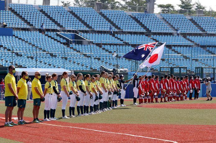 L'ours a failli perturber la rencontre du Japon face à l'Australie.