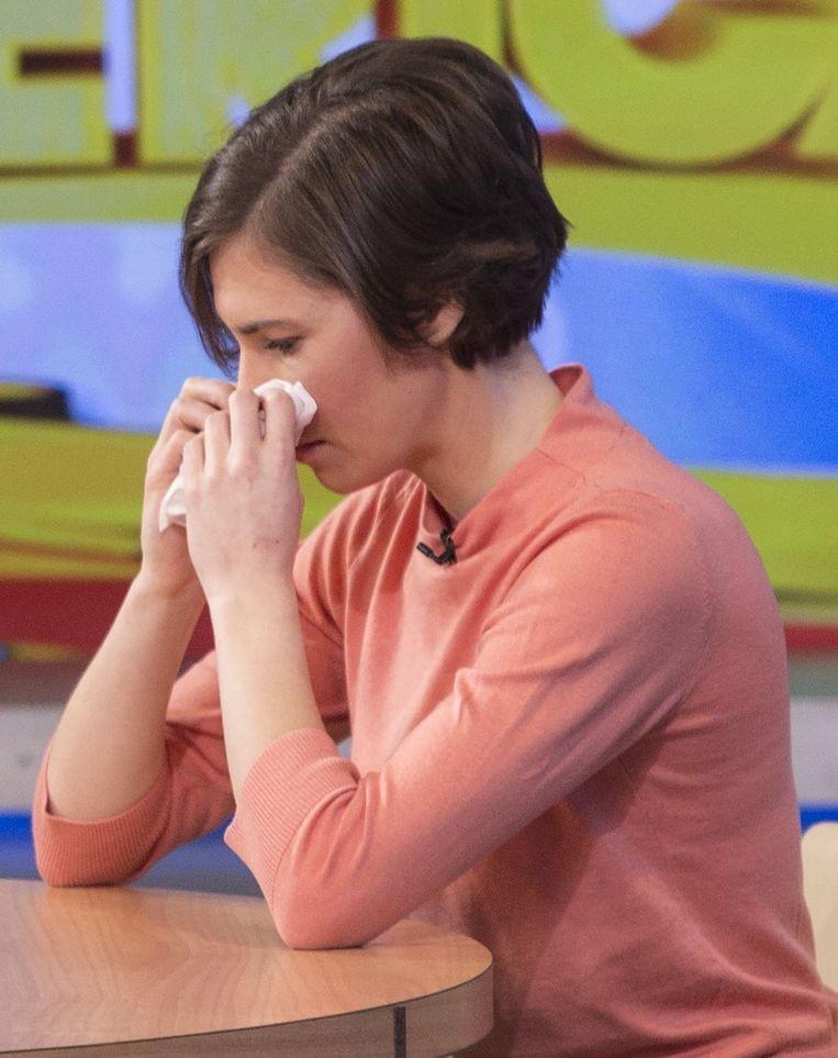 Amanda Knox deed haar verhaal op de Amerikaanse televisie. Beeld reuters
